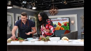 Chef Paul Lillakas shares healthy tips for eating light