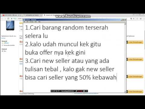 Mencari Seller Amazon Ship Indo