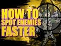 How To Spot Enemies Faster (Call of Duty COD Ghost Tips Tricks) | Splamming