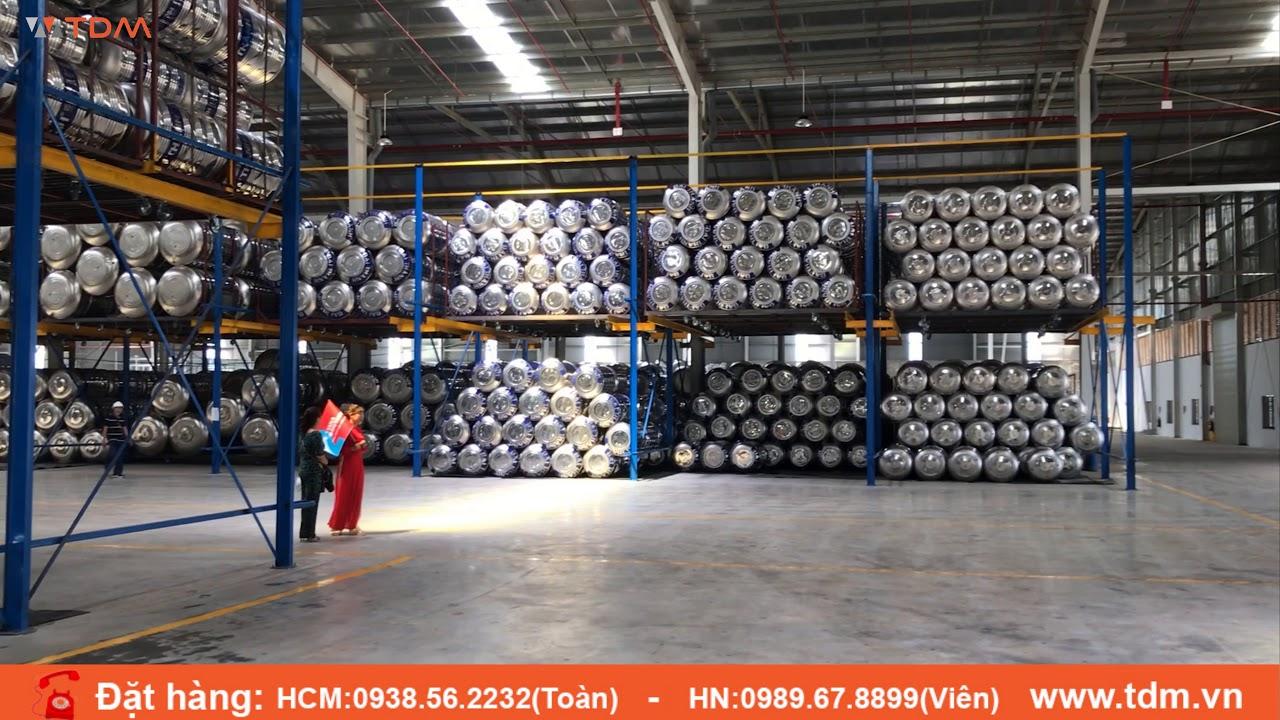 Quy trình sản xuất bồn nước Tân Á Đại Thành Inox 304 316 siêu bền