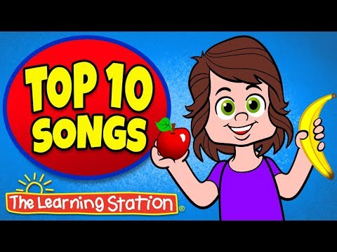 Apples and Bananas ♫ + More Favorite Children's Songs ♫ Best Kids Songs ♫ The Learning Station