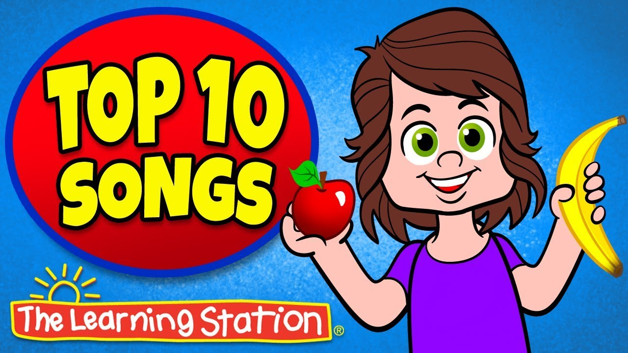 Apples and Bananas ♫ + More Favorite Children's Songs