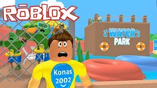 Roblox Escape the Zombie Pool Obby ! || Roblox Gameplay || Konas2002