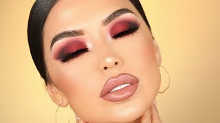 ANTI-VALENTINE CRANBERRY SMOKEY EYES | Iluvsarahii