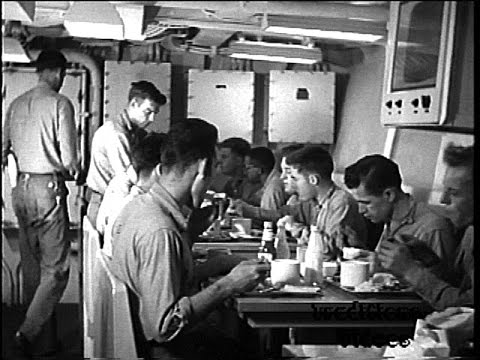 US Navy Film: Improving Shipboard Living Conditions, 1953
