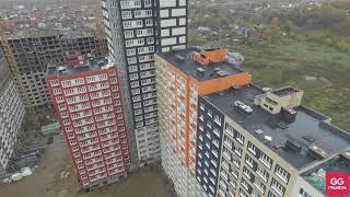 ЖК Пехра — съёмка с воздуха октябрь 2019