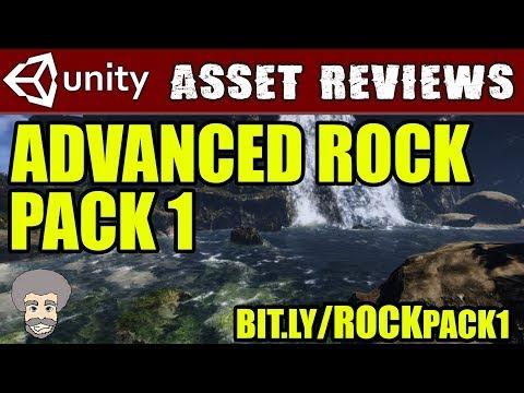Unity Asset Reviews - Advanced Rock Pack 1 (30% Sale)