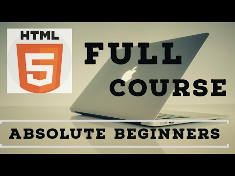 HTML Crash Course For Absolute Beginners -2020 | HTML Full Course- Build A Website Tutorial