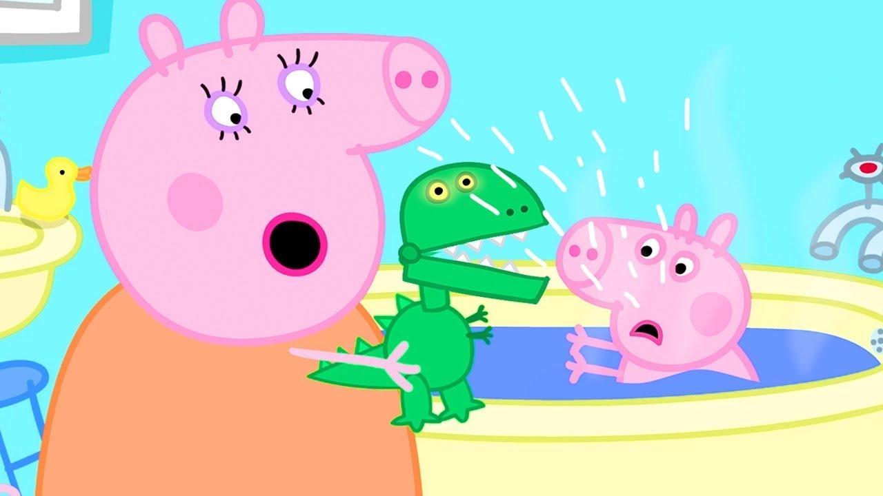 Peppa Pig Français 🦖 George Ne Peut Pas Jouer Avec Son Nouveau Dinosaure | Dessin Animé Pour Bébé