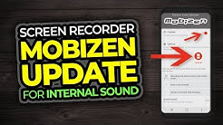 Mobizen Screen Recorder App For Android - Internal Sound Update