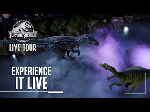 Experience it Live   Jurassic World Live Tour