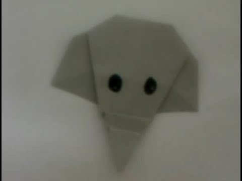 Origami - How to make a paper Elephant - YouTube | 360x480
