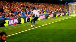 Chelsea vs Newcastle - Ameobi scores the definitive 3-4 in the 3rth round of the Carling Cup