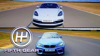Porsche 718 Cayman GTS VS BMW M2 Shootout | Fifth Gear