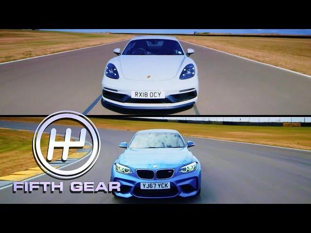 Porsche 718 Cayman GTS VS BMW M2 Shootout   Fifth Gear