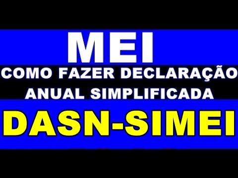 Mei Dasn Simei Como Fazer A Declaração Anual