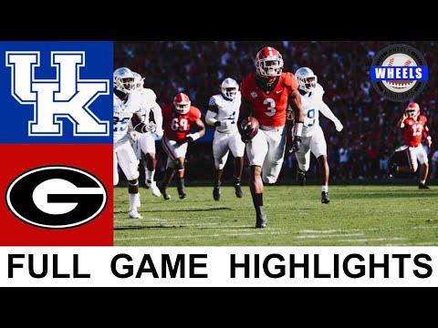 Download #1 Georgia vs #11 Kentucky Highlights   College Football Week 7   2021 College Football Highlights