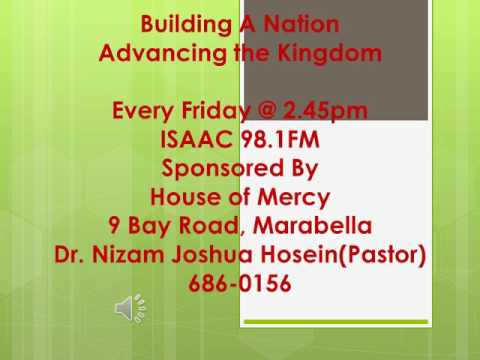 Building a nation Advancing the kingdom