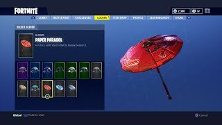 How To Get The New Umbrella Paper Parasol For FREE In Fortnite Battle Royale