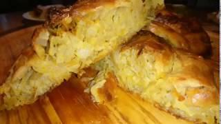 Placinte Moldovenesti Cu Varza Moldovan Pie With Cabbage Recipe In Description