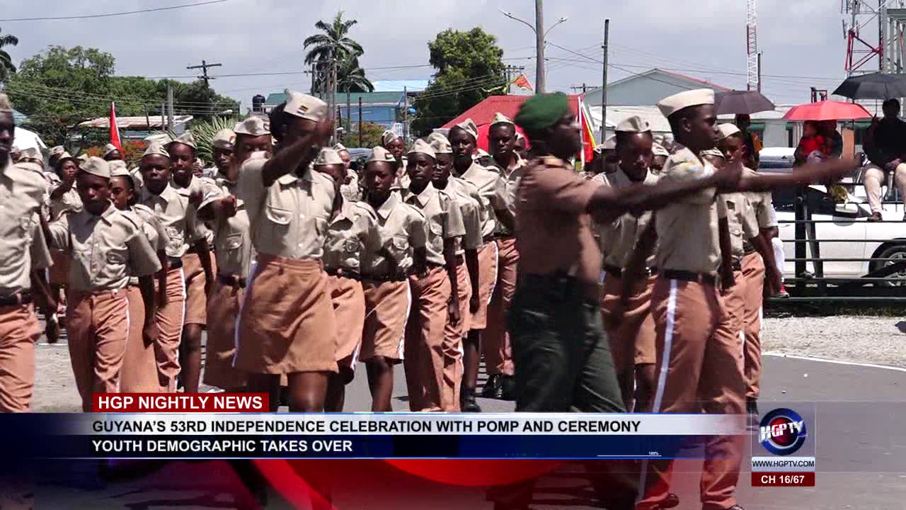 GUYANA'S 53RD INDEPENDENCE CELEBRATION WITH POMP AND CEREMONY