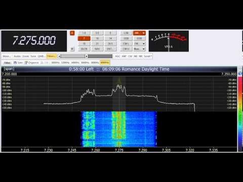 29 05 2013 Radio Tunis in Arabic 0507 on 7275 Sfax
