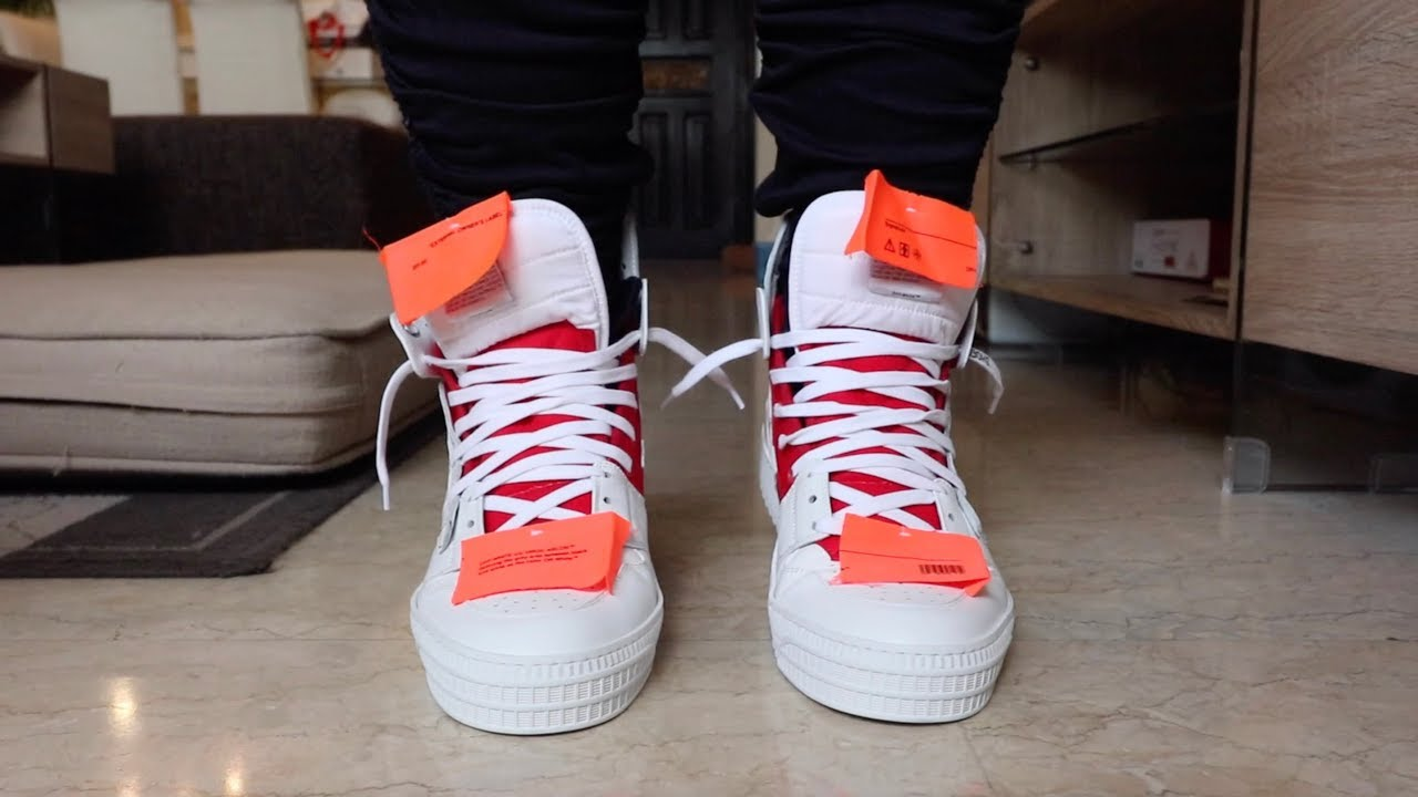 buy online e55f7 9a9b9 OFF WHITE SNEAKERS REVIEW (OFF COURT 3.0)