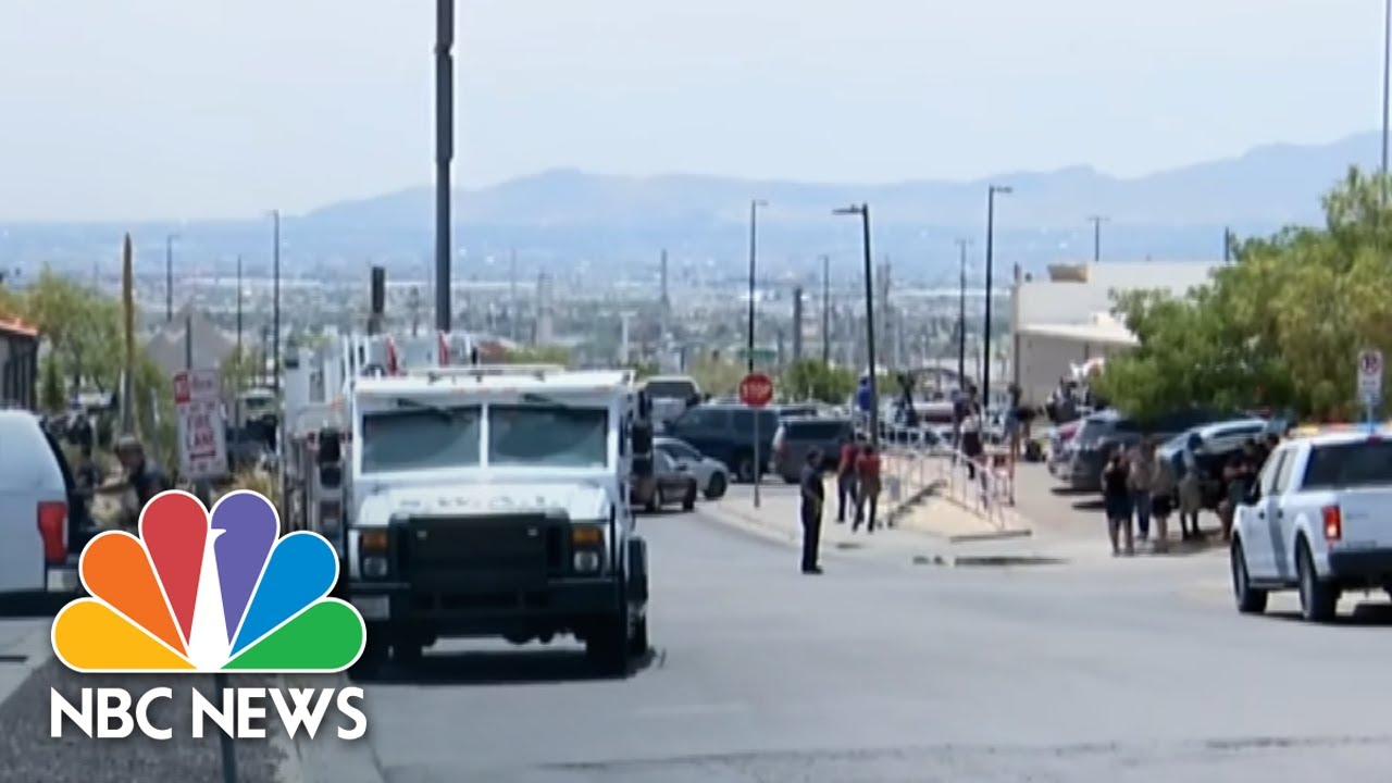 Watch Live: Police Respond To Active Shooter Near El Paso Mall | NBC News