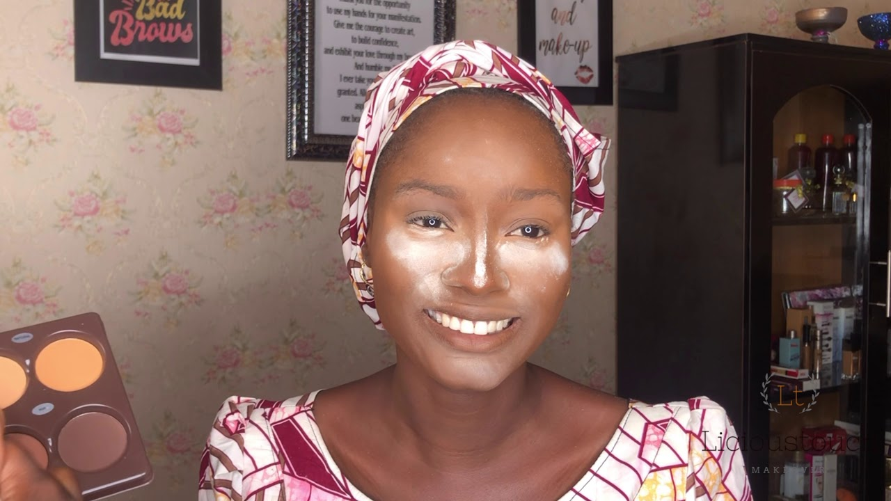 Download Hausa makeup tutorial/Fulani bridal inspiration/PIGMENTATIONS/kwalliyar Amarya