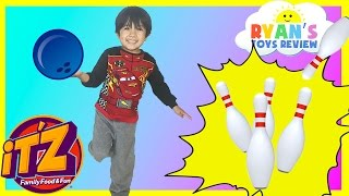 Indoor Family Fun Center for Kids IT'Z bowling car racing games and activities kids Video thumbnail