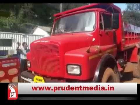 TRUCKERS UPSET WITH MLA NILESH CABRAL FOR HIS ACT AT MINING SITE_Prudent Media