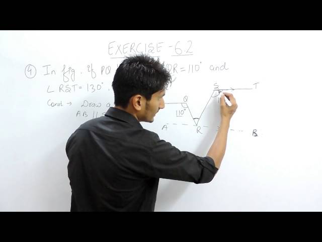 Exercise 6.2 (Lines and Angles) Question 4 NCERT/CBSE Solution for Class 9th Maths