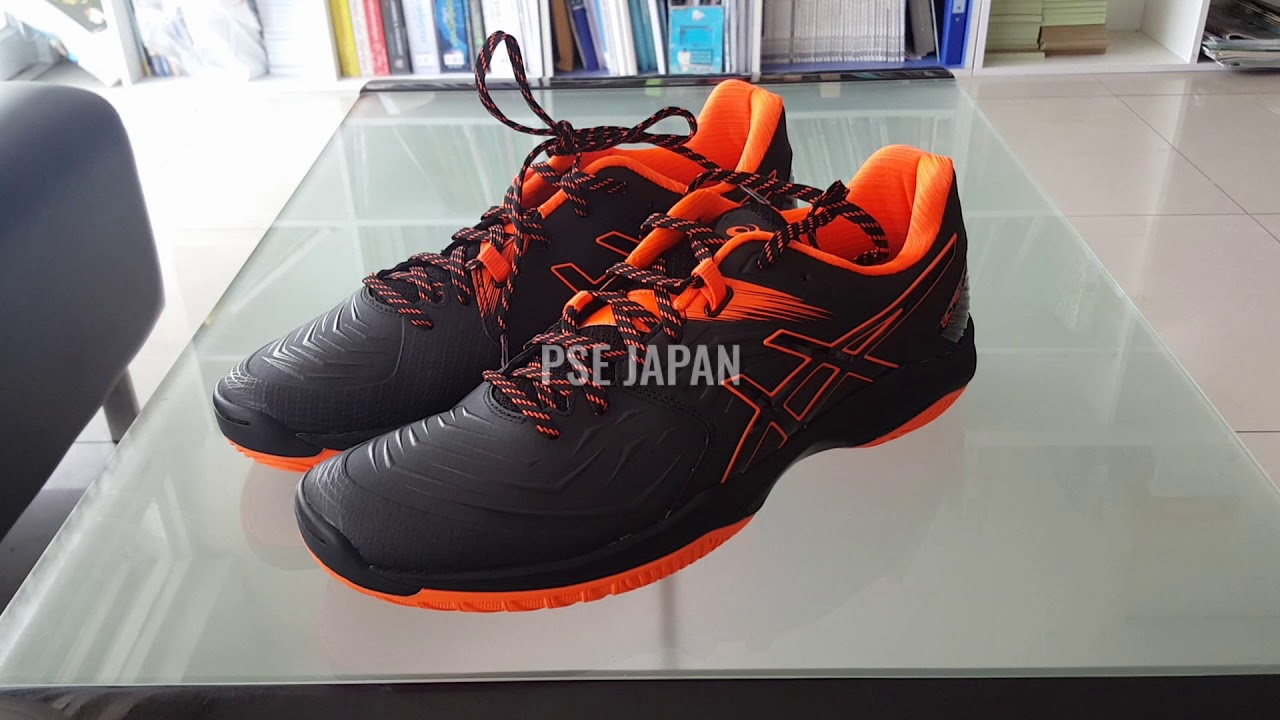 Asics Blast FF jp. ( Black/Shocking Orange )