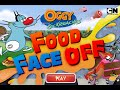 Cartoon Network Games | Oggy and The Cockroaches | Food Face Off