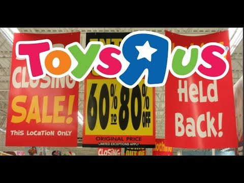 Last Days Of Toys R Us Everything Is 60% Off