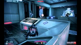 Mass Effect 3 Walkthrough Mission 14 - Cerberus Fighter Base - Noveria Insanity PC