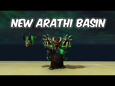 NEW Arathi Basin - Demonology Warlock PvP - WoW BFA 8.1.5