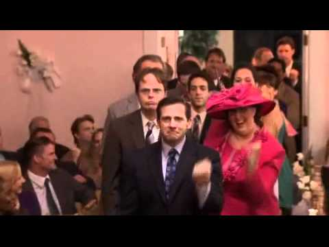 Jim And Pam Wedding.The Office Jim And Pam S Wedding Dance