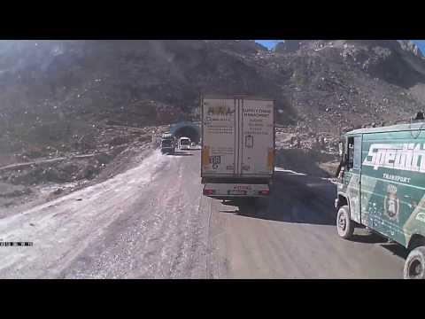 Дорога на Кабул через перевал Саланг
