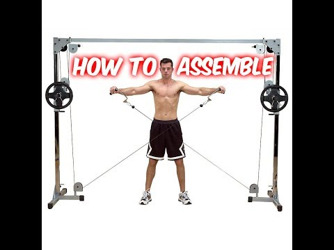 ASSEMBLY: Powerline By Body-Solid Cable Crossover Machine (PCCO90X)
