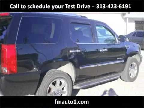 2007 Cadillac Escalade Used Cars Detroit MI