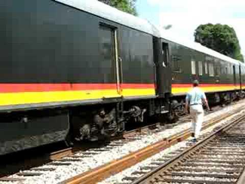 Kansas City Southern Business Train
