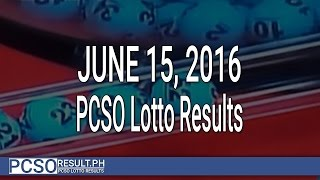 PCSO Lotto Results June 15, 2016 (6/55, 6/45, 4D, Swertres & EZ2)