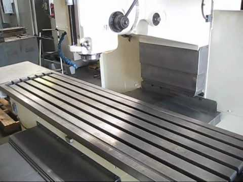 FRYER CNC BEDTYPE MILLING MACHINE UNDER POWER  YouTube