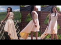 HOW TO: MAKE AN ASYMMETRIC HEM DRESS   MY BIRTHDAY DRESS 2016   KIM DAVE