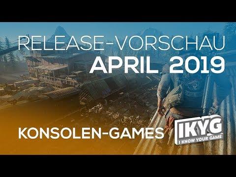 Games-Release-Vorschau - April 2019 - Konsole