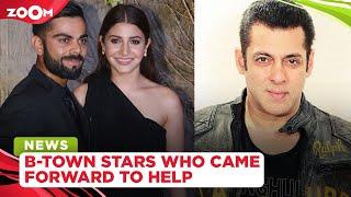 Anushka-Virat's fundraiser, Salman's financial aid, B-Town celebs extend help amid COVID-19 pandemic