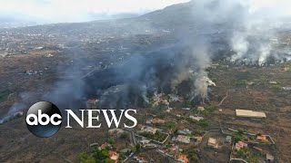 Ongoing evacuations in Canary Islands after volcanic eruption l WNT