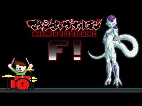 Maximum The Hormone - F! (Drum Cover) -- The8BitDrummer
