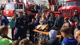 Выставка пожарной и спасательно-аварийной техники
